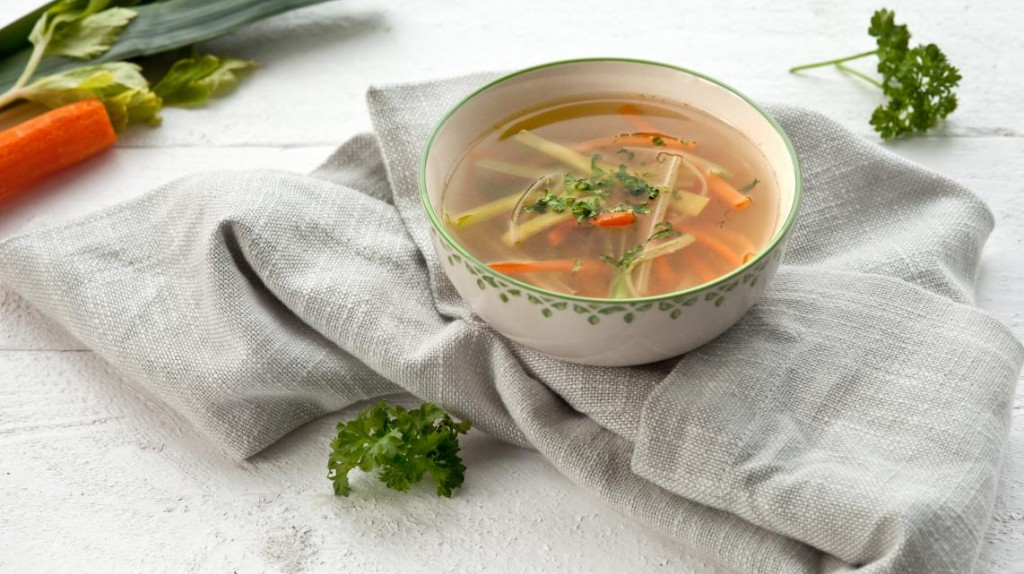 vegetables julienne soup